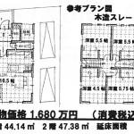 建物価格:1,480万円・消費税込
